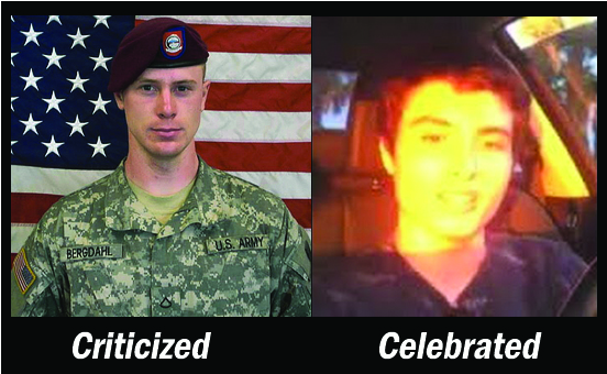 Serviceman Denigrated, Mass Murderer Celebrated. This Is U.S.