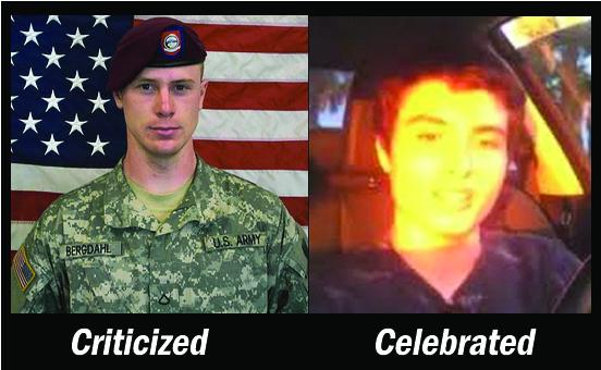 Serviceman Denigrated, Mass Murderer Celebrated. This Is U.S.
